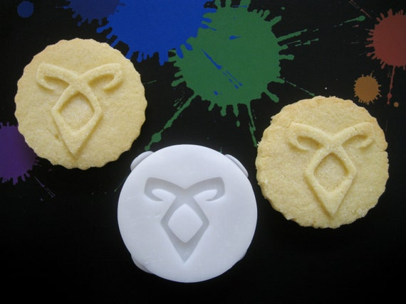 ANGELIC POWER Rune Inspired COOKIE Stamp Recipe And