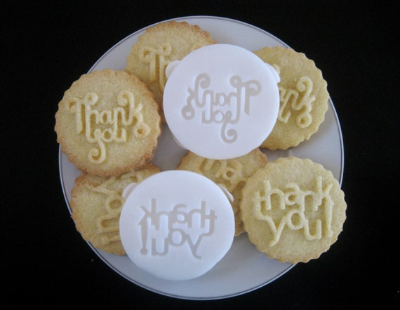 THANK YOU COOKIE Stamp Recipe And Instructions Make Your Own