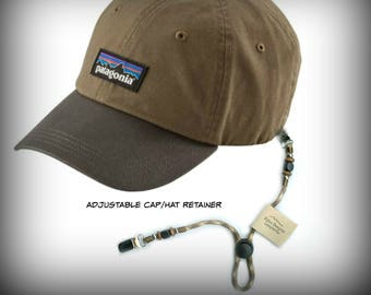Hat/Cap Retainer Leash-Keeps Your Cap With You!