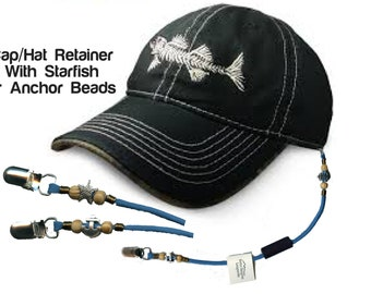 Cap Eyewear Retainer Hat Leash Clip Holder Black Nylon Cord Strap Plastic CF/_QH