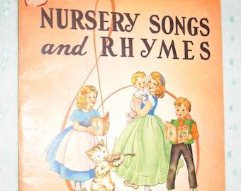 Nursery songs   Etsy