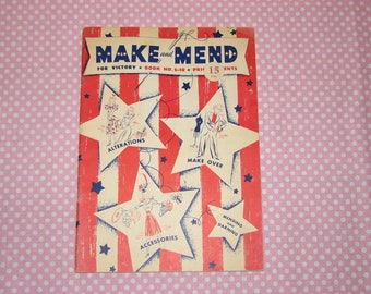 Make and Mend For Victory-Book no.s-10