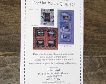 Pop-Out Picture Quilts #2-Memory Quilts