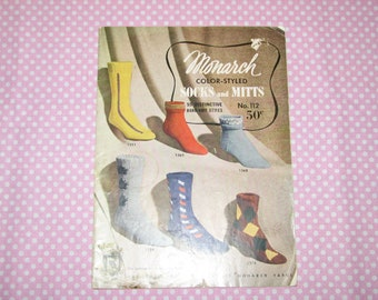 Monarch's Socks and Mitts no.112
