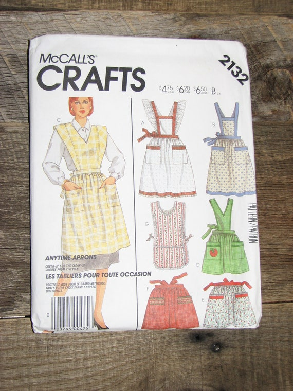 McCall\'s Craft Sewing pattern 2132 | Etsy