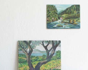 Bright & Happy Landscape Painting