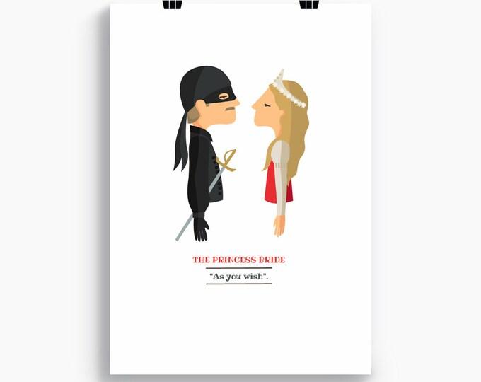"""Ilustración """"La princesa prometida""""."""
