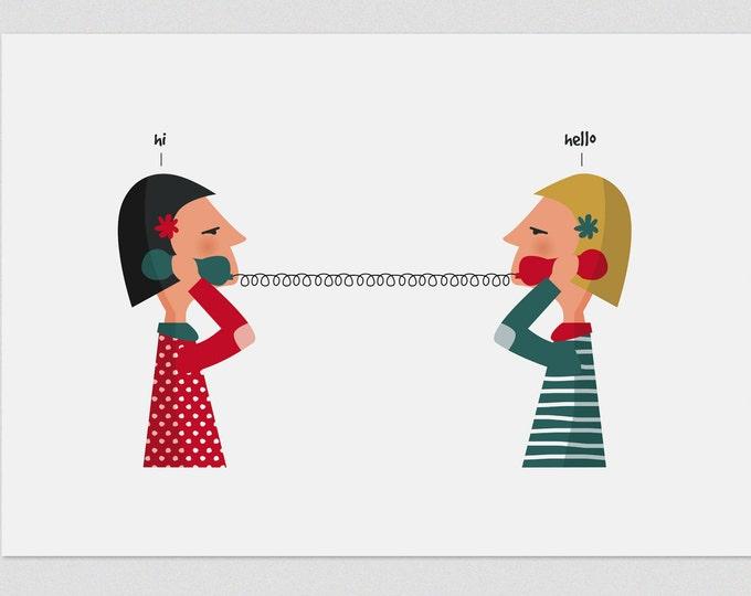 "Ilustración "" Charlatanas ""."