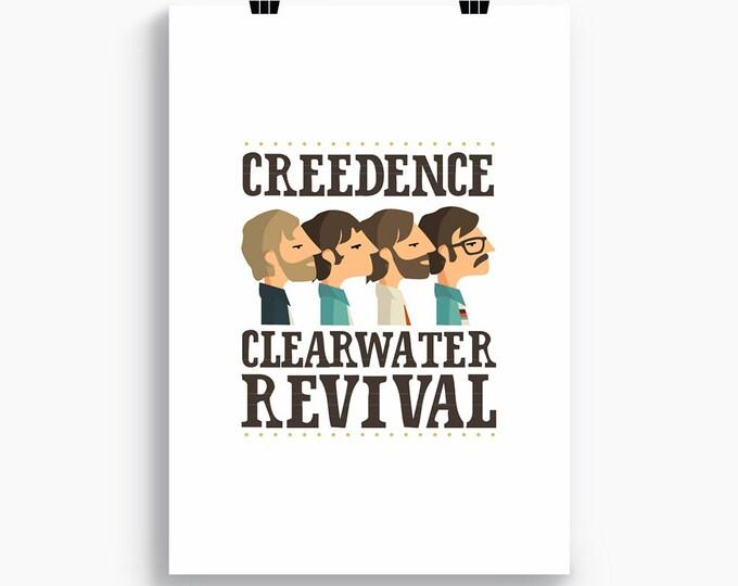 "Ilustración "" Creedence Clearwater Revival"""