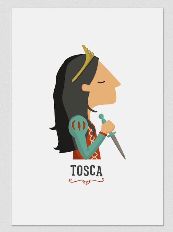 """Ilustración """" Tosca """"."""