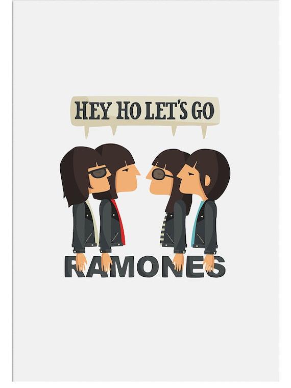 """Ilustración """" Ramones """"."""