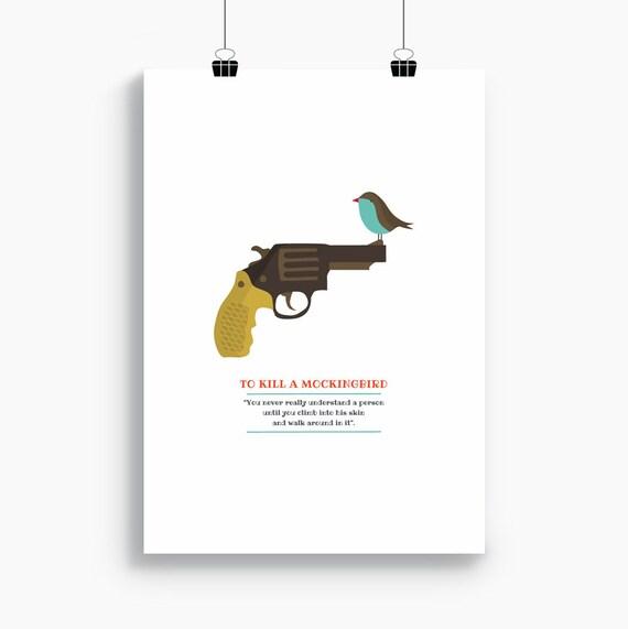 """Ilustración  """"Matar un ruiseñor"""". Basada en la novela de Harper Lee."""