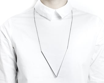 loVe - Long necklace with stick pendants