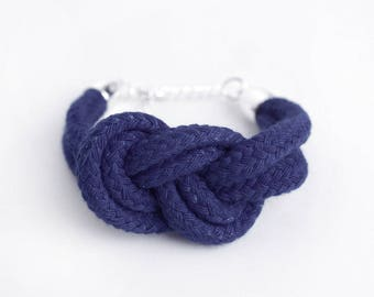 Nautical nice - Bracelet with sailor knot