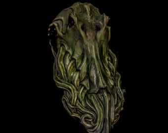 Cthulhu, full head wearable mask
