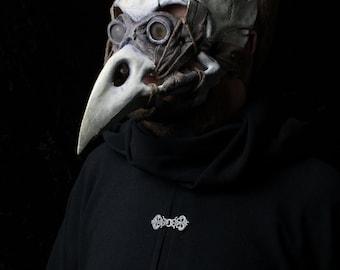 The Harbinger, plague doctor mask, bird skull mask