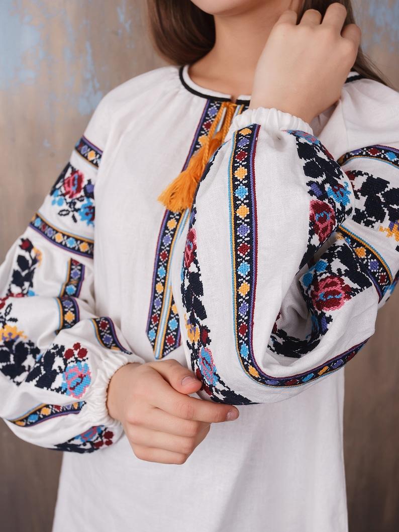 Traditional clothes Ukrainian embroidered women/'s blouse Ethnic sorochka shirt Vyshyvanka Embroidered blouse \u0412\u0438\u0448\u0438\u0432\u0430\u043d\u043a\u0430