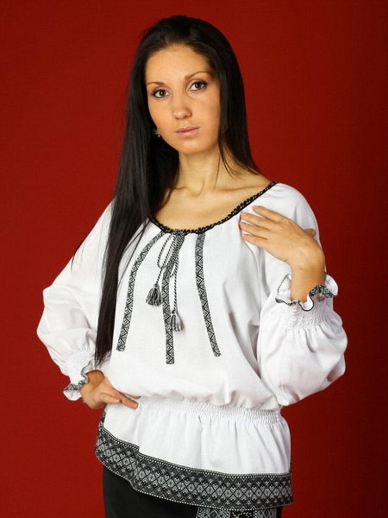 5e94ee159b0c28 Ukrainian embroidered women's blouse. Vyshyvanka. | Etsy