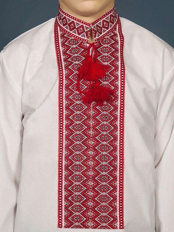 vyshyvanka NOUVEAU Taille 3-12 Ans ukrainien Brodé Chemisier pour Fille