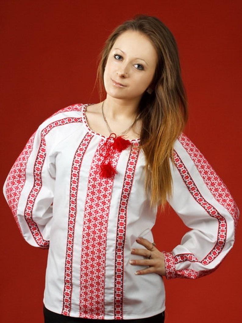 f38eb136cea99d Ukrainian embroidered women's blouse. Women vyshyvanka. | Etsy