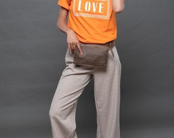 eda35892f156 Leather belt bag   Etsy