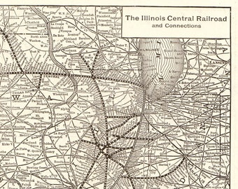Illinois central rr | Etsy on cotton belt railroad maps, western pacific railroad maps, illinois terminal railroad 1950, b&o railroad maps, magnolia mississippi maps, illinois central caboose, illinois central trains, illinois 294 toll road map, western maryland railroad maps, louisville and nashville railroad maps, burlington northern railroad maps, baltimore and ohio railroad maps, illinois central 4-8-2, c&o railroad maps, illinois railroad map 1950, erie railroad maps, railroad val maps, illinois traction system, union pacific maps, illinois central station,