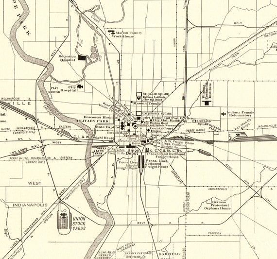 1920 Large Antique Indianapolis City Map of Indianapolis Indiana Street on indianapolis construction map, indianapolis country map, indianapolis education map, indianapolis stadium map, indianapolis travel map, indianapolis water map, indianapolis bar map, indianapolis bicycle map, indianapolis mall map, indianapolis topographic map, artwork of indianapolis map, indianapolis indiana map, indianapolis monorail map, indianapolis blvd map, indianapolis street map, indianapolis light rail map, indianapolis sewer map, indianapolis walkway map, indianapolis waterways map, indianapolis beach map,
