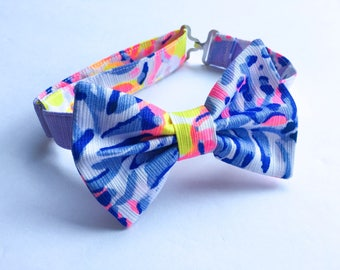 Boy's Lilly Pulitzer So Snappy Fabric Bow Tie