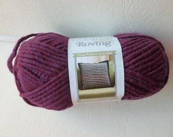 Yarn Sale  - Plum Roving  by Bernat