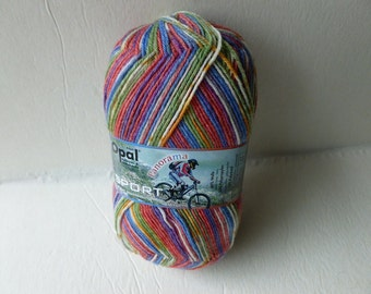Sale 20% off Retail Sprint 9132 Panorama Sport Sock yarn by Opal