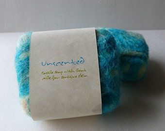 Felted Soap, Handmade Felted Soap - Unscented