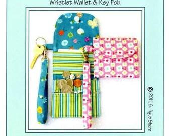 PATTERN:  Cash on Hand - - - Wristlet Wallet & Key Fob
