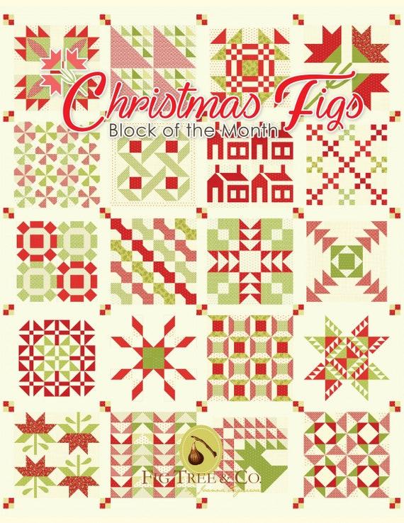 Pattern Book Christmas Figs By Joanna Figueroa Etsy