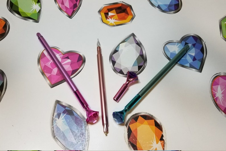 Double Ended Gem Topped Diamond Painting Drill Pen