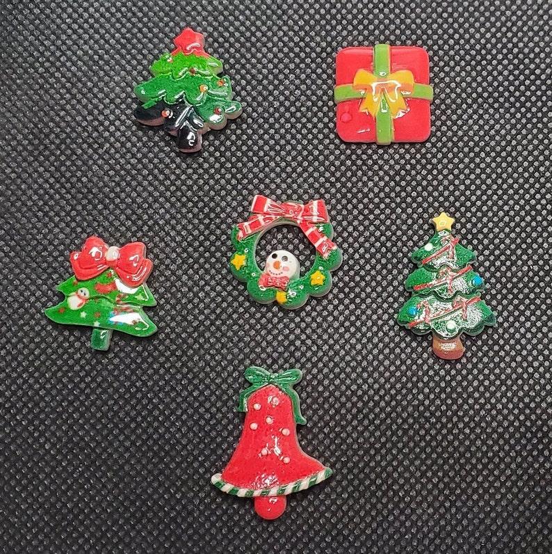 Christmas Mini Resin and Plastic 5D Diamond Painting Cover MindersNeedle Minders