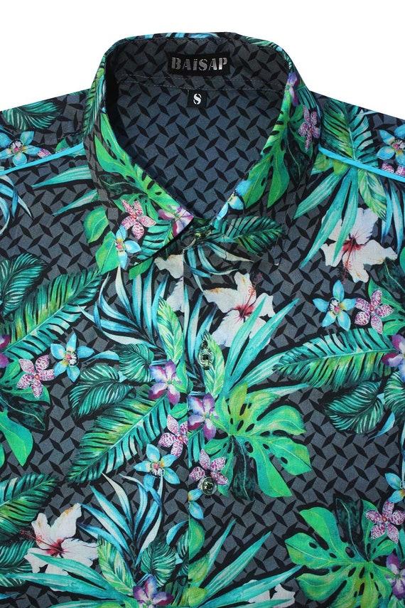 Camisa Hawaiana Grano De Arroz