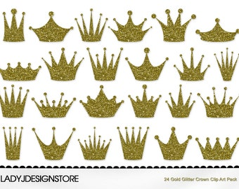 crown clip art 12 digital clipart silver crowns for etsy