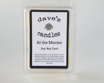 At the Movies. Soy Clamshell Tart