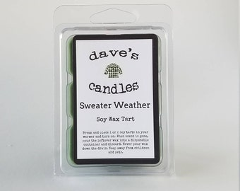 Sweater Weather. Soy Wax Tarts