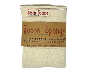 The Original Bacon Sponge unpaper towels--NOW BIODEGRADABLE!