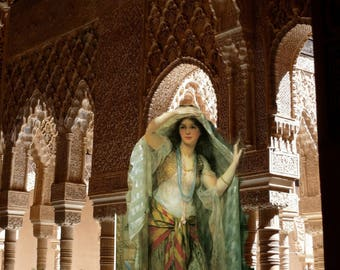 """""""The mysteries of the ALHAMBRA"""" Paris art photo"""