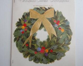 vintage unused hallmark christmas home decorations elegant hallmark christmas decor angels bunting classical holiday decorating ideas - Hallmark Christmas Home Decor