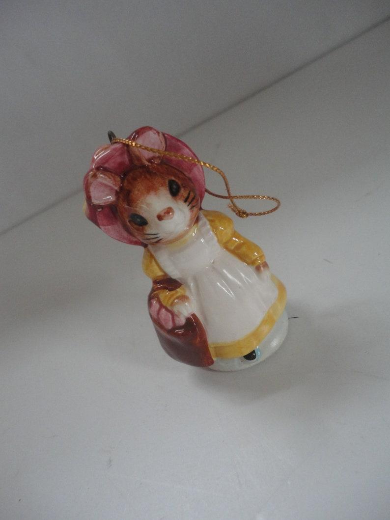 Schmid Benjamin Rabbit Beatrix Potter Beatrix Potter Ornament Vintage Ceramic Schmid Benjamin Rabbit Christmas Ornament Christmas