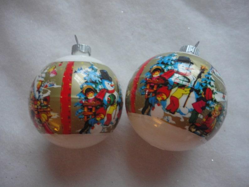Old Fashion Christmas Ornaments Holiday Ornaments Vintage Poloron Shiny Brite Kids Christmas Ornaments Shiny Brite Christmas Ornaments