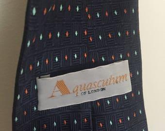 1976e69b9a2d Cravate Vintage Aquascutum