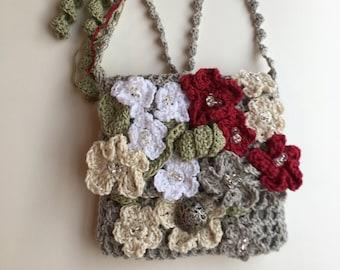 Crocheted Cross-body Purse Original Design