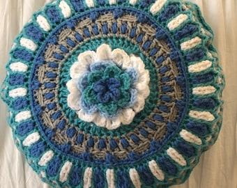 Flower Mandala Pillow