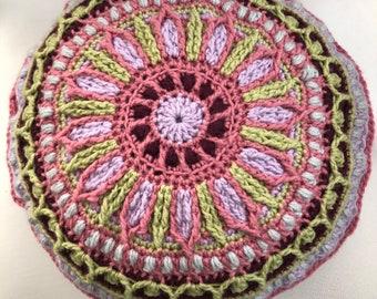 Mandala Toss Pillow 14 inches