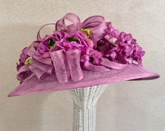 Lavender Kentucky Derby Hat