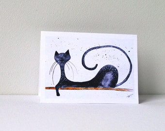 Happy Anniversary Cat Card Funny Birthday For Him Greeting Cards Cats Her